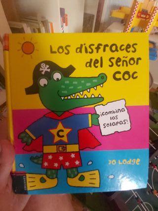 LOS DISFRACES DEL SEÑOR CROC