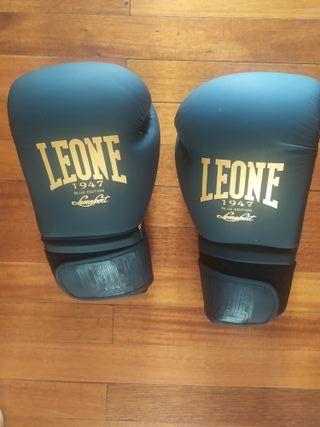 guantes de boxeo leone 14 onzas