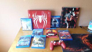 Ps4 slim 1tb edición especial spiderman