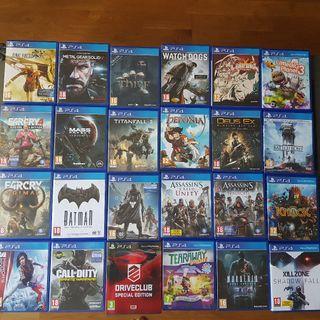 Juegos Playstation 4 - PS4