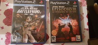 Pack Star Wars PS2