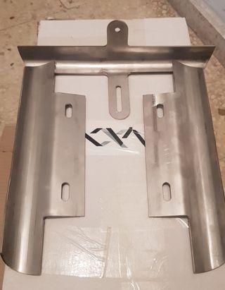 Protecciones kart acero inox