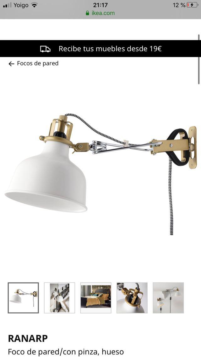 Lampara Ranarp Ikea