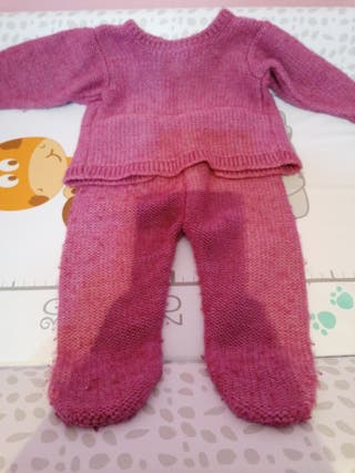 trajecito bebe