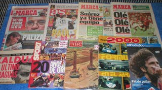 LOTE 9 PERIODICOS REVISTAS DEPORTIVAS MARCA SPORT