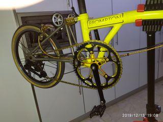 Bicicleta Brompton ultraligera 7.6 kiilos