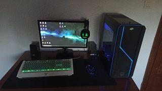 Pc Gaming+Monitor+etc (comprado a piezas)