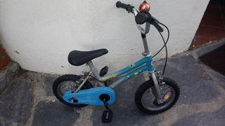 Bicicleta niño 4 a 6 años