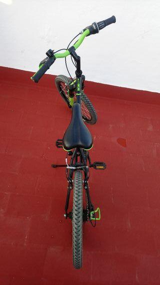 bicicleta BTT niño