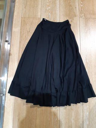 Falda de flamenco de 75cm de largo