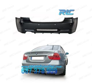 PARAGOLPES TRASERO BMW E90 LOOK M3 PDC