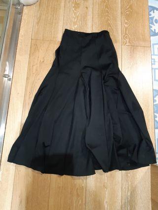 Falda flamenco 85 cm largo