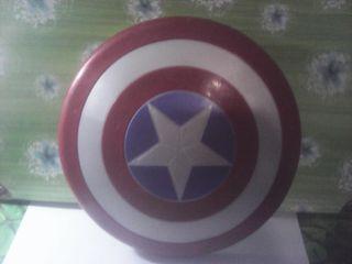 escudo capitan america marvel 23 cm de diametro
