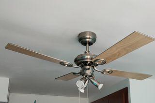 Ventilador luz techo
