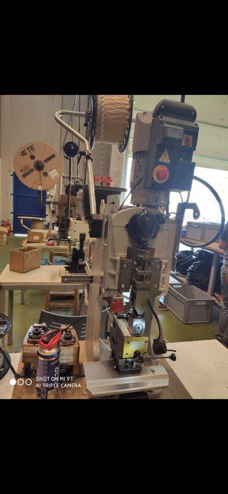 prensa automática aplicadores terminales