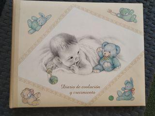 Diario recuerdo de tú bebé.