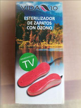 Ozono, esterilizador, desinfectante zapatos