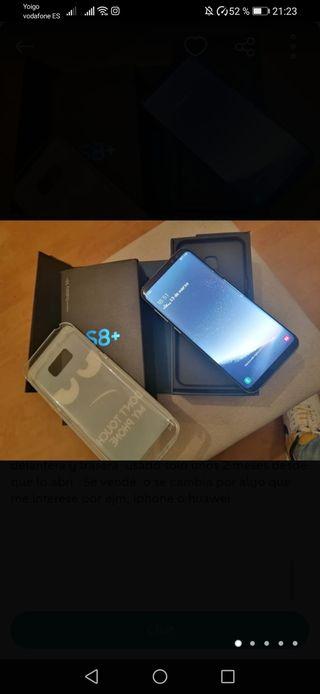 Samsung S8 Plus original en estado perfecto.