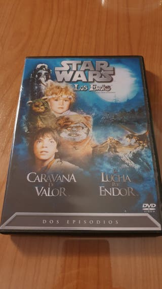 Star Wars Los Ewoks DVD