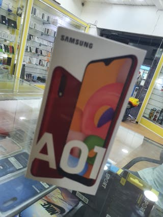 SAMSUNG A01 16GB ROJO