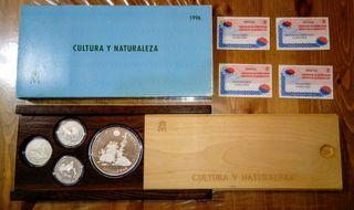 Monedas Colección de la Cultura y naturaleza