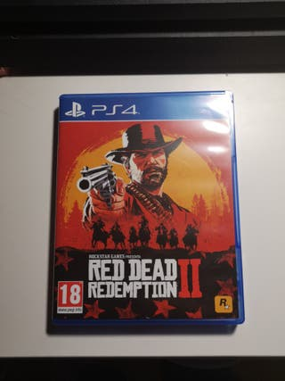 vendo RED DEAD REDEMPTION 2