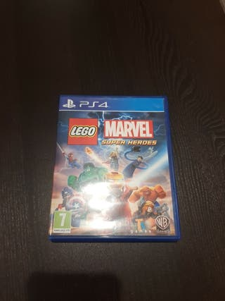 juego lego marvel superheros 1 ps4