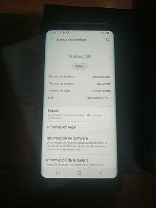 Samsung Galaxy s8 vendo o cambio,buen estado libre