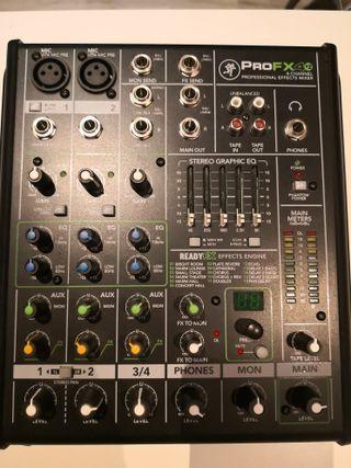 mesa mezcla ProFX4v2 nueva