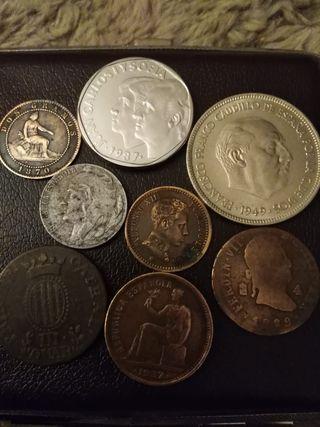 Lote monedas españolas