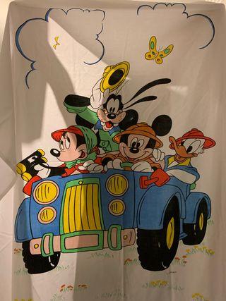 Sábanas Mickey cama 80