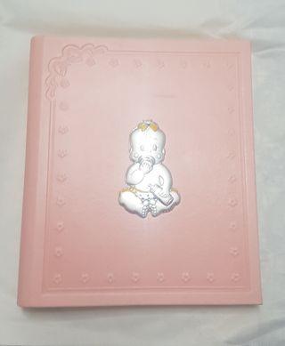 Libro Nacimiento Bautizo Niña