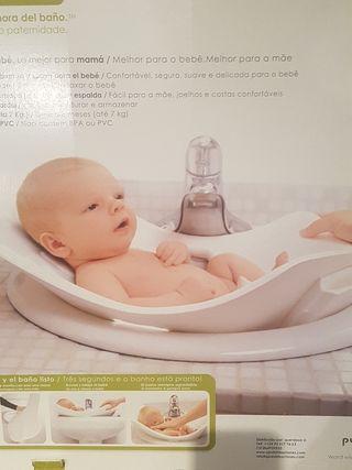 Bañera flexible bebé