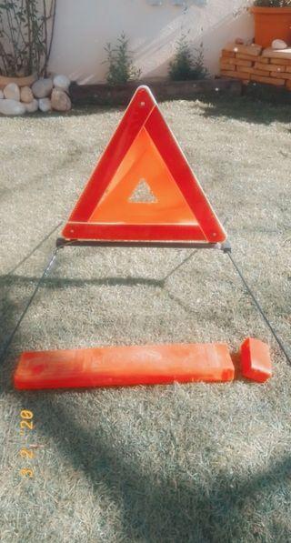 triángulos de señalización!