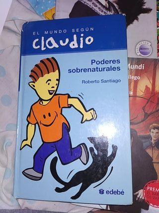 libro poderes sobrenaturales de colecc. Claudio