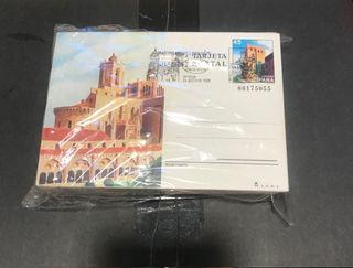 Lote tarjetas postal