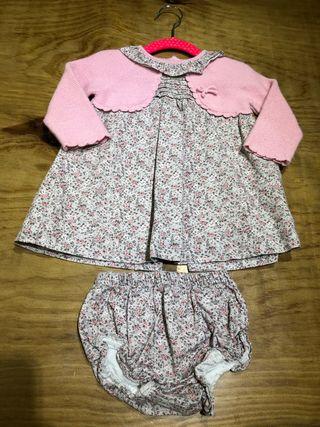 Talla 12-18 Vestido de Dulces bebé niña