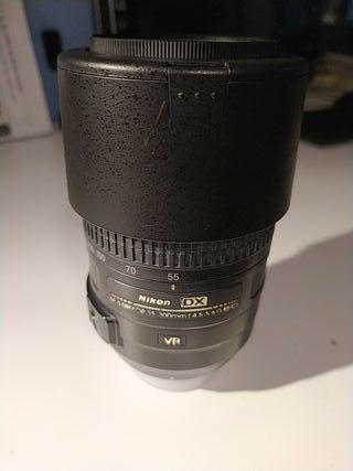 Objetivo AF-S 55-300mm Nikkor 4.5-5.6