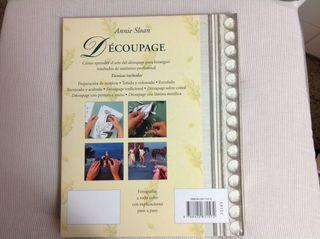 """Libro """" Dècoupage"""""""