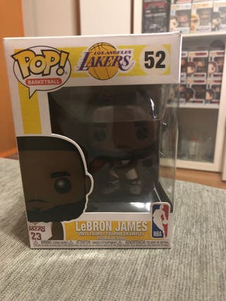 FUNKO POP , LEBRON JAMES #52, (LAKERS),nuevo
