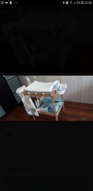 cambiador bebe