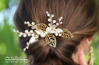 Peineta de novia invitada tocado diadema tiara