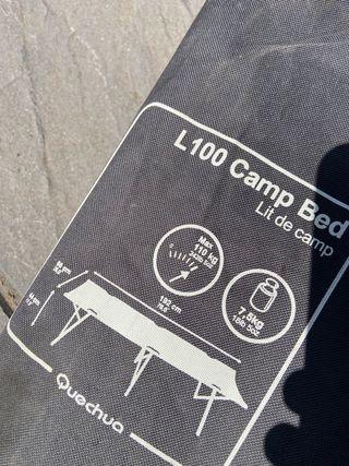Cama de de camping plegable