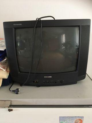 Televisión vintage Samsung+tdt