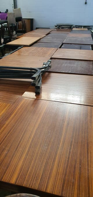 deja wasap mesa de madera buena para restaurante