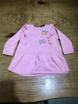 Talla 12-18 meses Free Style Vestido bebé niña