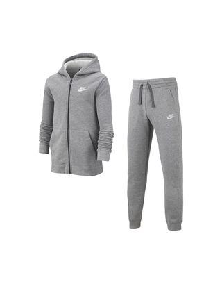 Boys Grey Nike Tracksuit