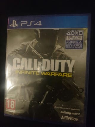 call of duty infinite warfare videojuego ps4