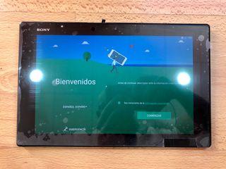 Tablet Sony Xperia Z2 con tarjeta sim