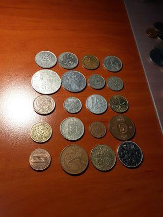 Monedas del mundo lote 2